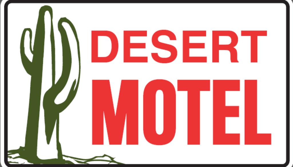 desert motel road sign[2249]