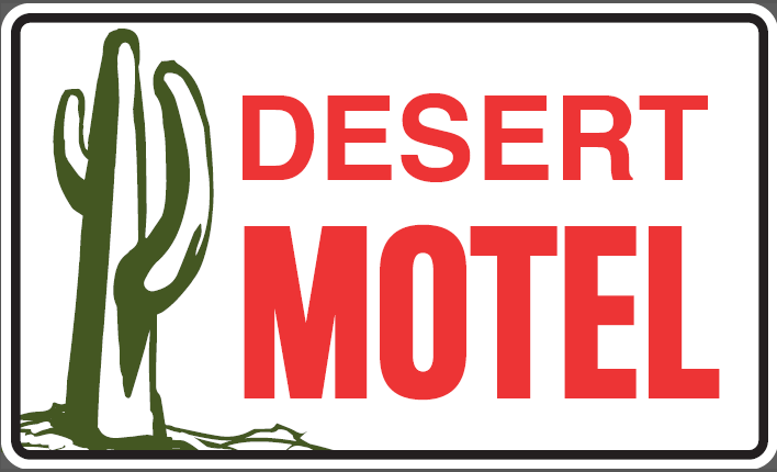 desert motel road sign[2249]